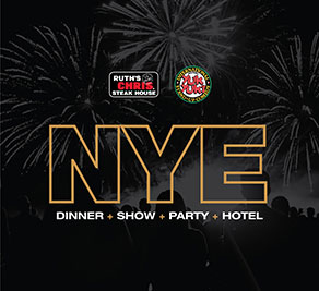 New Year's Eve Dinner and Show Package - Hotel Packages - New Year's Eve Niagara Falls